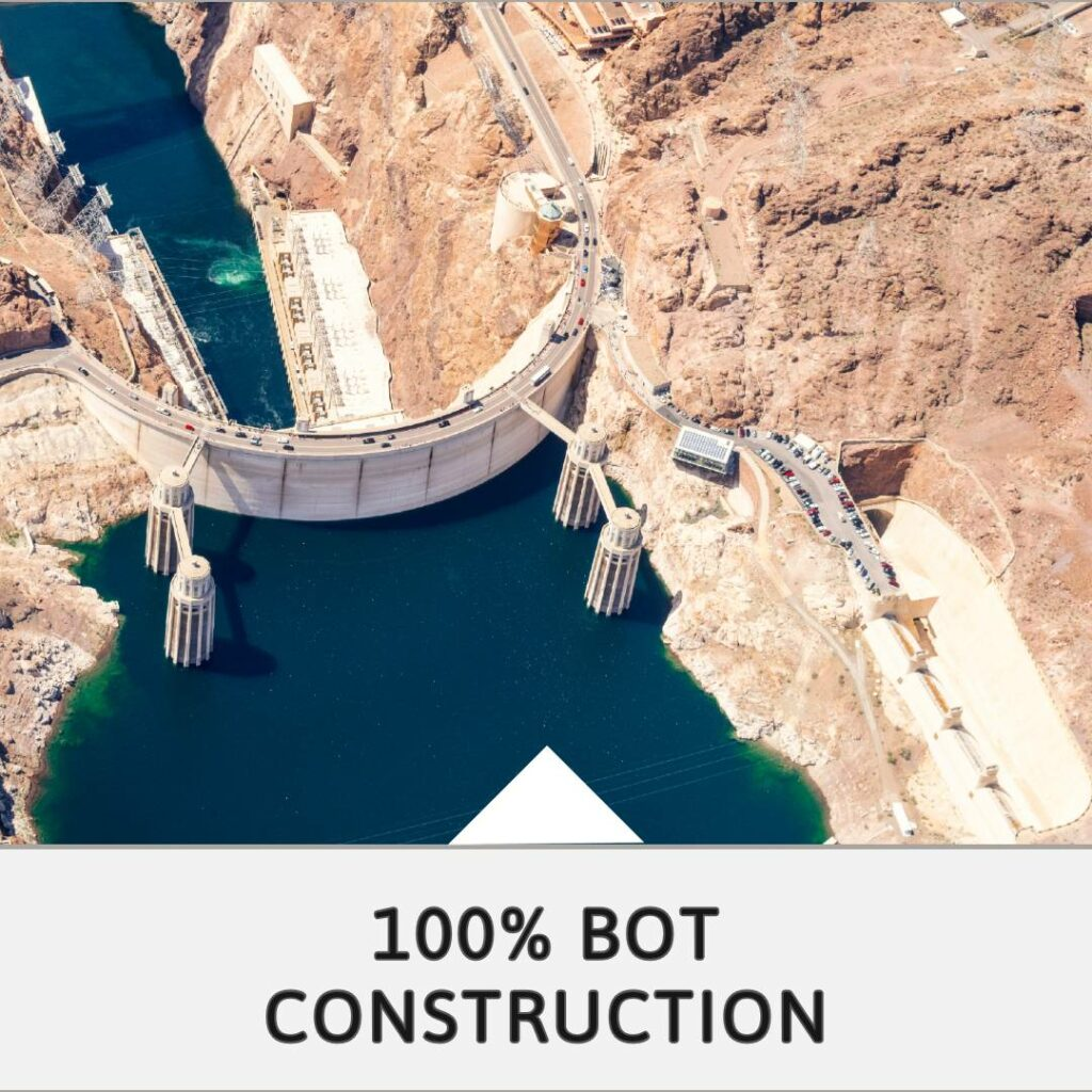 100% BOT construction